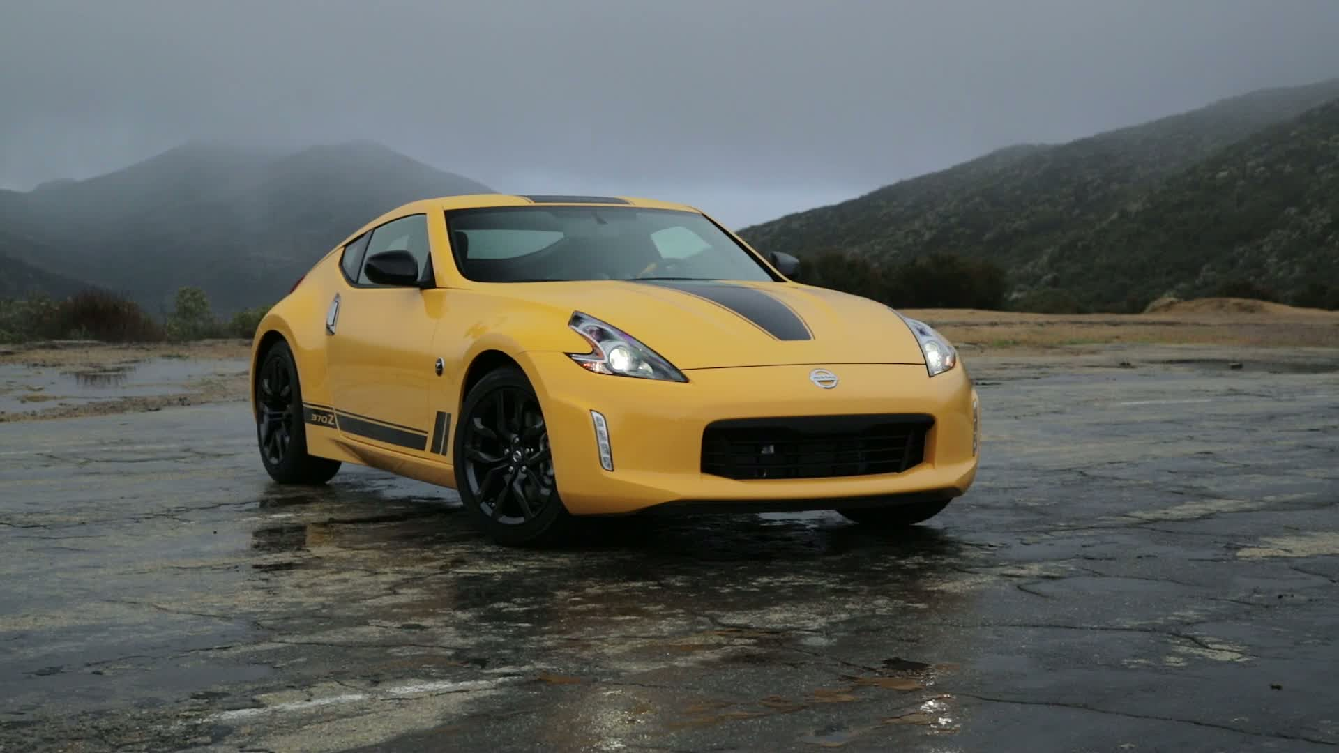 B Roll 2018 Nissan 370z Heritage Edition Static